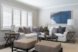 Interior - Family Room Couch